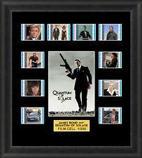 James Bond Quantum of Solace Framed 35mm Film Cell Memorabilia Filmcells Cells
