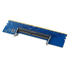 Laptop DDR4 RAM SO DIMM to Desktop Computer DDR4 Memory Adapter Card Blue AC2126