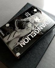 Evangelion Zippo Lighter Plug Suit Black titanium Limited anime asuka rei