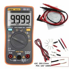 AN8008 True RMS LCD Digital Voltmeter Multimeter Ammeter AC DC Voltage Current