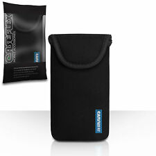 Caseflex Accessories For The Sony Xperia Z2 Black Neoprene Pouch Case Cover