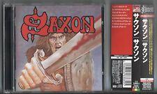 SAXON - Saxon CD JAPAN/OBI 1999 TOCP-67871