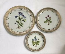 George Briard Private Collection 3 Serving Plates set Floral Potpouri