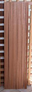 10 Mahagoni Leisten Holz Modell- Bootsbau 130x2x2 cm Bastel- Tonholz Penbl.