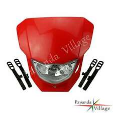 Red Dirt Bike Enduro Headlight Head Light For Honda CRF50F CRF70F CRF80F CRF100F