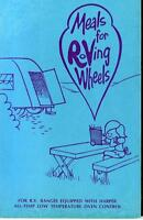 COOKBOOK MEALS FOR ROVING WHEELS R.V. RANGES HARPER RECIPES 1973