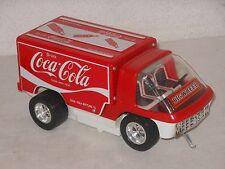 Taiyo - Big Wheel COCA COLA Camión - 25 cm - Vintage máquina tintoy Japón - 11