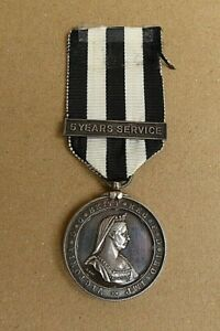 1910 ST JOHNS AMBULANCE LONG SERVICE MEDAL WITH 5 YEAR BAR (MILL BAY DIVISION)