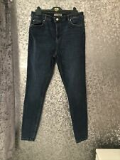 High Rise Skinny Stretch Jeans Size 16