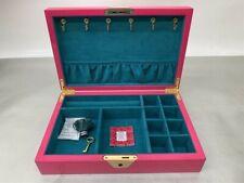 Jonathan Adler Lacquer Jewelry Box, 22290, Fuchsia & Blue
