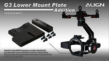 Align G3-GH Gimbal Extension Lower Mounting Plate with weight GG3011XXT
