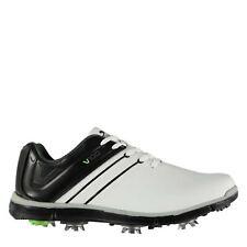 Slazenger Mens V100 Golf Shoes Spiked Lace Up Comfortable Fit