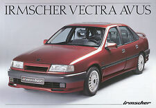Opel Vectra Irmscher Avus Prospekt 11/91 1991 Autoprospekt Auto PKWs Deutschland