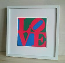 Robert Indiana - ORIGINAL VINTAGE ART - 1991 LOVE Print Serigraph Art Obras Work