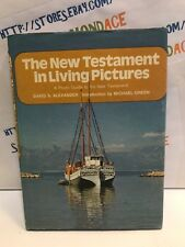 THE NEW TESTAMENT IN LIVING PICTURES. DAVID S. ALEXANDER. BOOK. USED. CHRISTIAN