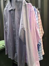 Mens Slim Fit Easy Iron Calvin Klein Business Work Shirts