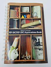 Vintage 1977 Hewlett Packard Hp-19C/Hp-29C Applications Book Calculator Manual