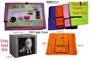 Ambaby Puppy Dog Crate Cover Pet Cage Kennel Cover Breathable Water Resistant