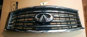 13-15 INFINITI  QX60 JX35  GRILLE  FACTORY OEM USED CONDITION W/ EMBLEM & CAMERA