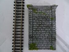 N GAUGE TRACK SIDE RETAINING WALL SECTIONS 4 (STONE)