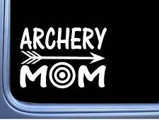 Archery Mom L752 6 inch Sticker arrow target bow Decal