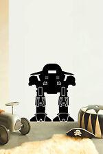 ROBOT No1 Children's bedroom nursery vinyl sticker wall transfer home art decor