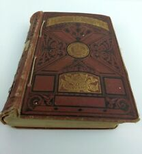 1st Edition 1879 Ruth Erskine's Crosses Pansy Book HARDCOVER Odd Binding ANTIQUE