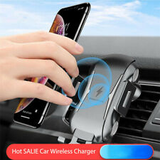Car Wireless Phone Fast Charger For iPhone X Xs Max 8Plus Samsung S10 Lite S8 S9