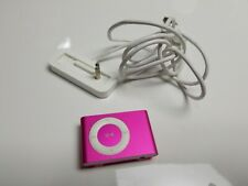 APPLE IPOD SHUFFLE 2ND GEN 1GB A1204 and dock ( PINK )