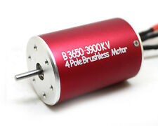 F540 3650 3900KV 4Poles Sensorless Brushless Motor for 1/10 Monster Truck RC Car