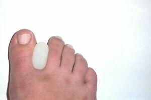 FootTrek Gel Toe Separator Toe Spreader Spacer For Overlapping Toes Bunion Pain