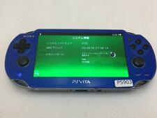 P5903 Sony PS Vita PCH-1000 console Sapphire Blue Japan x Express