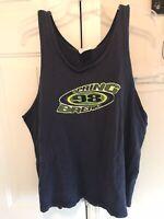 Vintage Pleasure Island Disney Spring Break 98 Tank Top Shirt Large Double Sided