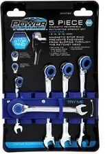 Power Torque 5 Pc Magentic Reversible Ratcheting Wrench Set, Metric ~ GM4780