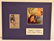 """""""Love Story"""" Collage with Ali MacGraw Autograph (includes COA)"""