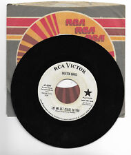 SKEETER DAVIS-RCA 8397 PROMO TEEN COUNTRY 45RPM LET ME GET CLOSE TO YOU VG++