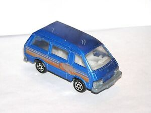 Vintage Majorette Toyota Lite Ace Van **PINK LIGHT SPECIAL**