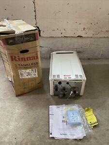 Rinnai V75eN Tankless Water Heater Natural Gas REU-VC2528W-US-N 180k BTU S-22