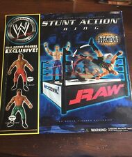 Sealed Vintage WWE Stunt Action Ring Chris Benoit Eddie Guerrero figures Rare