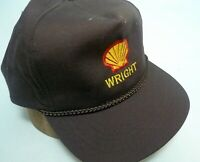 VTG New Farmer Trucker Snapback Hat Cap Wright SHELL Embroidery Yupoong