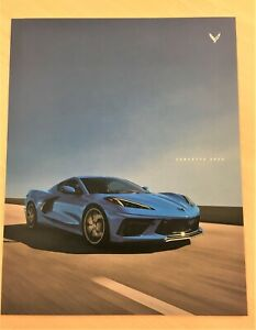 2020 Corvette C8 Brochure  11 x 14 FREE SHIPPING Chevrolet Dealership