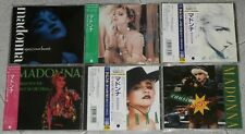 MADONNA - Huge Collection Lot of 40 CD singles 1986/2000 JAPAN - RARE Perfect!
