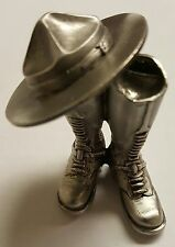 RCMP Royal Canadian Mounted Police 3D Boots & Hat Challenge Coin