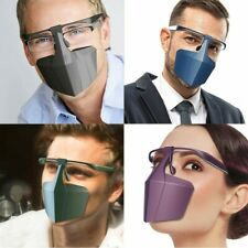 Face Mouth Visor Shield Glasses Multi-Use Covering Protection Trendy Designer