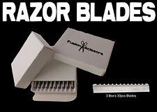 Hairdresser hair Razor Blades feather * 30 Pieces Blades *