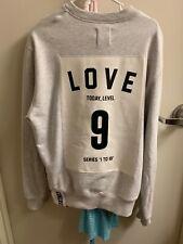studio concrete LOVE sweatshirt size 2 Gray Korean Designer