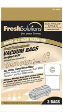 ELCO LABORATORIES INC Vacuum Bags, C-Style, 3-Pk. For Electrolux