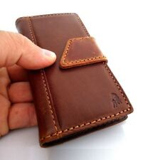 genuine vintage Leather case for Nokia Lumia 1020 book Wallet cover magnet slim