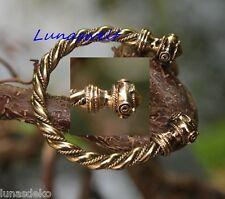 Keltischer Armreif Männer Kelten Replik  Bronze