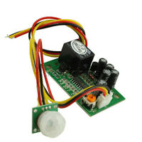 12V PIR IR Pyroelectric Infrared Module Adjustable Relay Output Sensor NEW